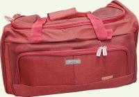 Сумка дорожная из ткани SUMMIT 006-24', цвет - красный