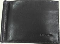 Портмоне с зажимом для денег из натуральной кожи NOBEL 008310