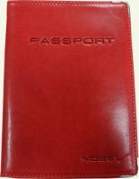 Обложка для паспорта из натуральной кожи NOBEL 008555
