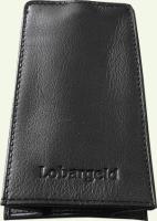Ключница Lobargeld 017, из натуральной кожи, цвет - черная