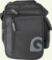 сумка молодёжная 1102082, из ткани, цвет - черный