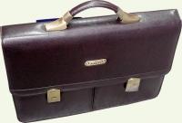 Портфель SONADA 1217 из искусственной кожи, коричневый