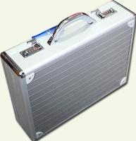 Кейс из металла SONADA 25083, цвет - серебристый