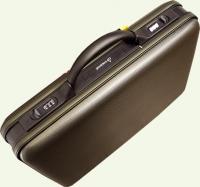 Кейс из пластика PRESIDENT, артикул 3147-16, цвет - серый