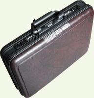 Кейс PRESIDENT 3122, 2/1, из пластика, малый, бордовый