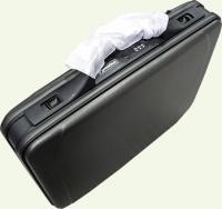 Кейс из пластика PRESIDENT 3134, из пластика, цвет - черный