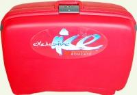 чемодан из пластика RONCATO 2/1  500221-2T большой красный