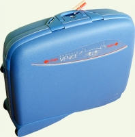 чемодан из пластика RONCATO 2/1  500391-2T малый синий