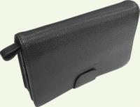 Сумка мужская из натуральной кожи NOBEL 65091-4, черная