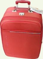 Чемодан из ткани SENATOR 3/1 малый красный 7014-3T