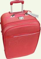 Чемодан из ткани SUMMIT 7014-3T 3/1 средний красный.