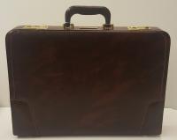 Кейс 8097, из искусственной кожи, коричневый