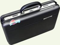 """Кейс DIPLOMAT 9031-16"""", из пластика, цвет - серый"""