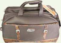 Сумка колесная SENATOR 3/1 9035-3TD, большая, коричневая