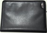 Папка из искусственной кожи HORIZON 9361, цвет - черный