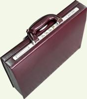 Кейс Pierre Cardin PC85028, из натуральной кожи, цвет - бордовый