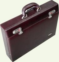 Кейс из натуральной кожи Pierre Cardin PC943, цвет - бордовый