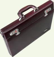 Кейс из натуральной кожи Pierre Cardin PC946, цвет - бордовый