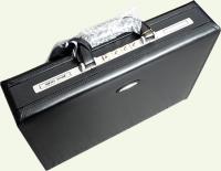 Кейс Pierre Cardin PC0019, из натуральной кожи, черный