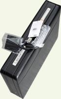 Кейс Pierre Cardin PC0062, из натуральной кожи, черный