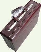 Кейс Pierre Cardin PC0064, из натуральной кожи, бордо