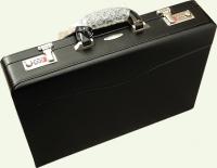 Кейс из натуральной кожи Pierre Cardin PC0132, цвет - черный