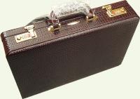 Кейс из натуральной кожи Pierre Cardin PC0132C, цвет - бордовый