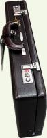 Кейс Pierre Cardin бордовый PC0134, из натуральной кожи