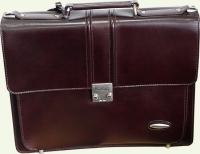 Портфель из натуральной кожи Pierre Cardin PC020, цвет - бордовый