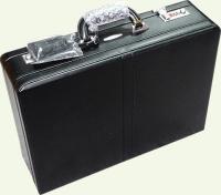 Кейс из натуральной кожи Pierre Cardin PC81746, черный