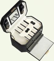 Шкатулка Pierre Cardin PC85017, из натуральной кожи, коричневая