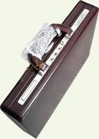 Кейс Pierre Cardin PC85025, из натуральной кожи, бордо