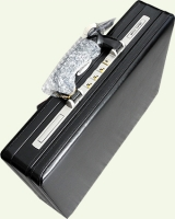 Кейс Pierre Cardin PC85027, из натуральной кожи, черный