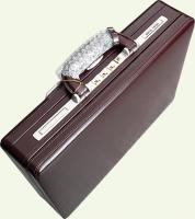 Кейс Pierre Cardin PC85027, из натуральной кожи, бордо
