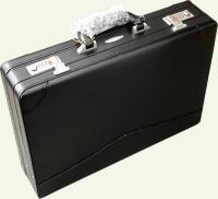 Кейс из натуральной кожи Pierre Cardin PC85133, цвет - черный