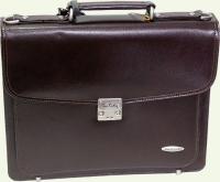 Портфель из натуральной кожи Pierre Cardin, артикул PC8891S, цвет - бордовый