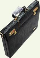 Кейс из натуральной кожи Pierre Cardin PC946C, черный